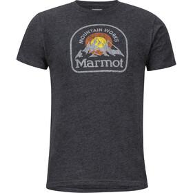Marmot Altitude - T-shirt manches courtes Homme - noir